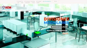 Diseño web aem SAS