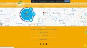 Diseño web avances serfi