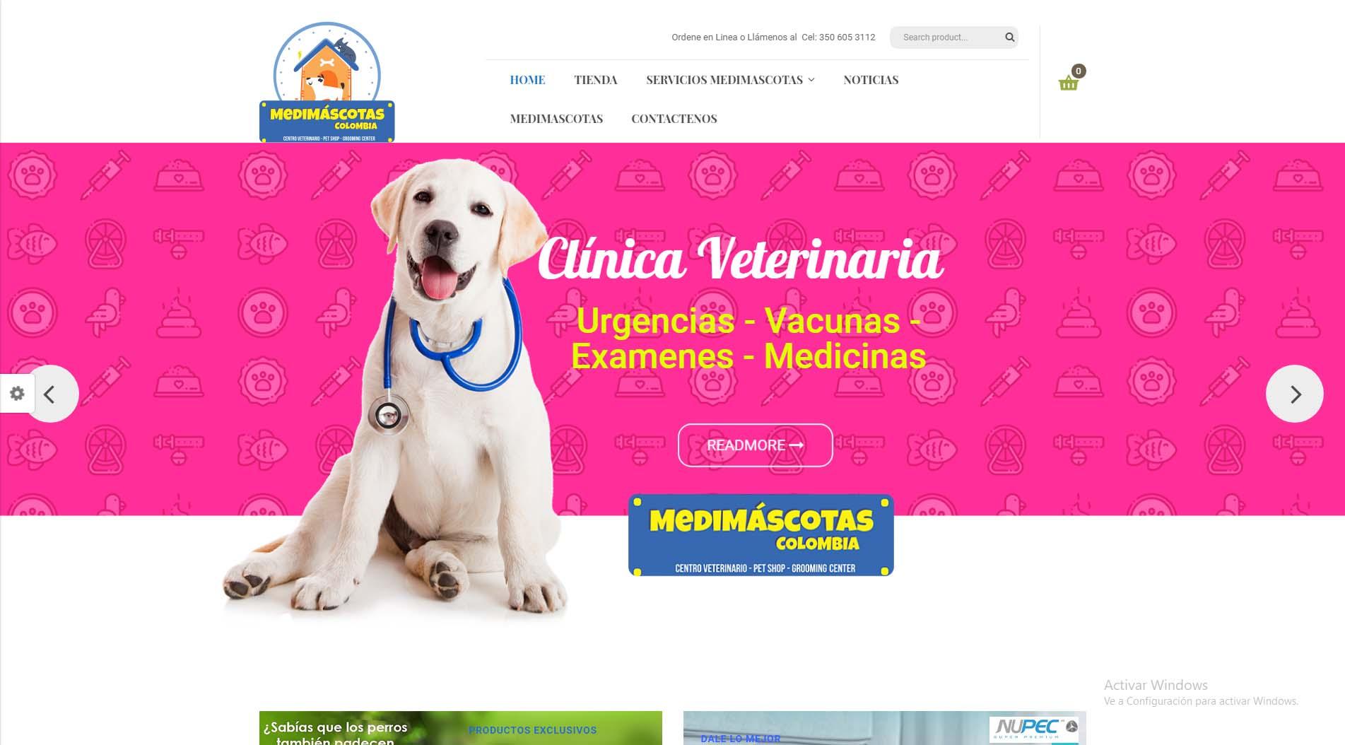 diseño web medimascotas