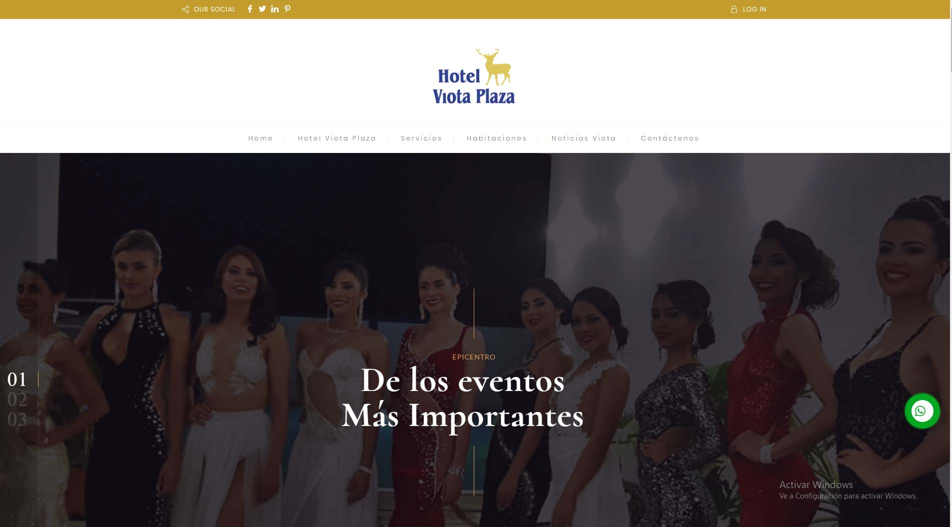 diseño web viota plaza